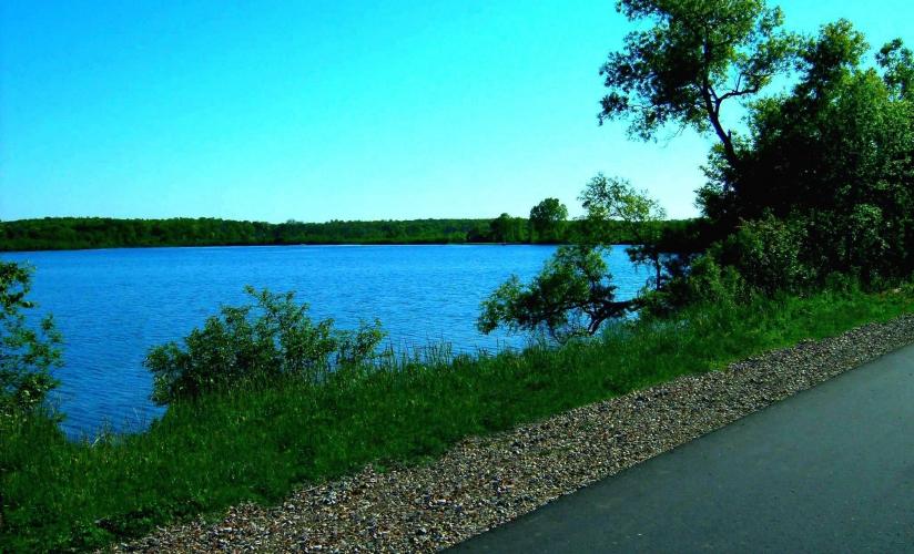 South half of lime lake