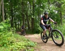 waterloo mountain bike rider