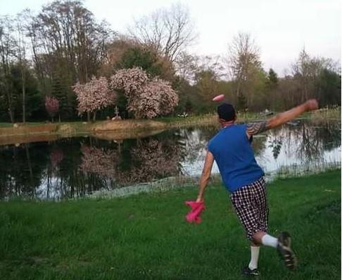 Player disc golf