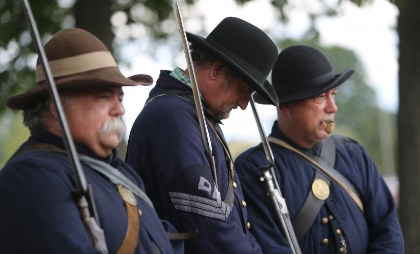Civil war muster 2014