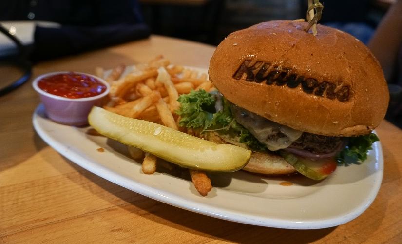 Klavons hamburger