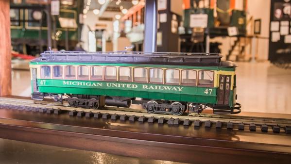 Lost railway museum model