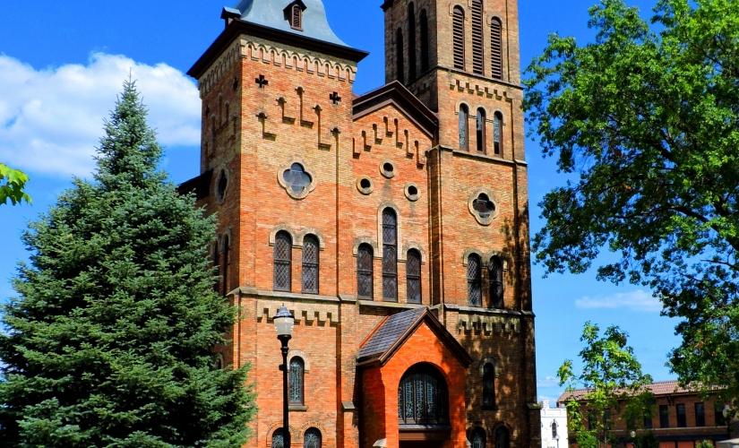 Cong. church