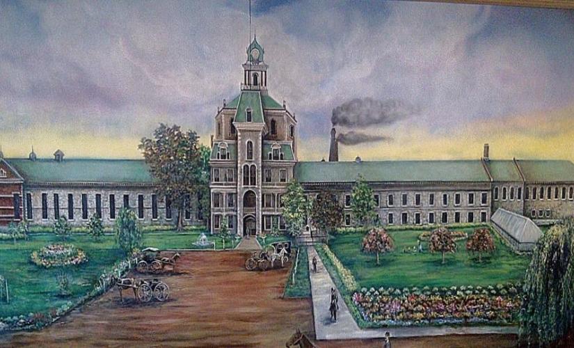 Grand mural - Jackson State Prison
