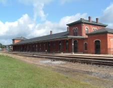 Michigan central railroad jackson amtrak depot 3