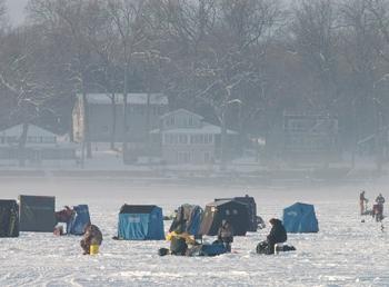 Ice shanties 2011